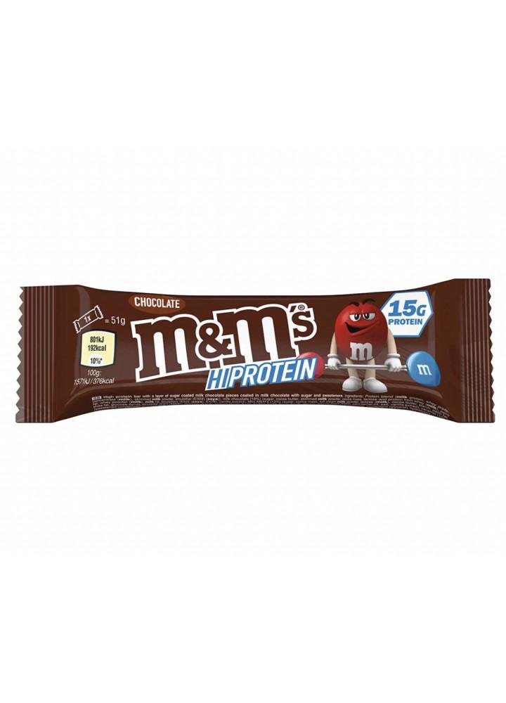 M&M beljakovinska čokoladica