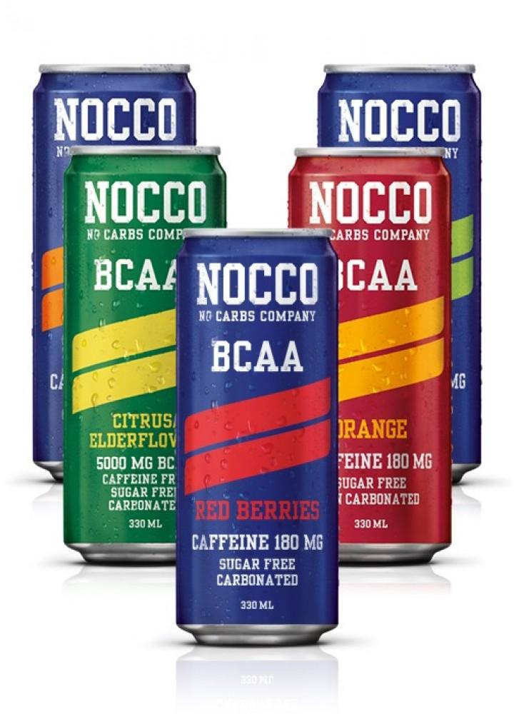 NOCCO BCAA napitek 330 ml