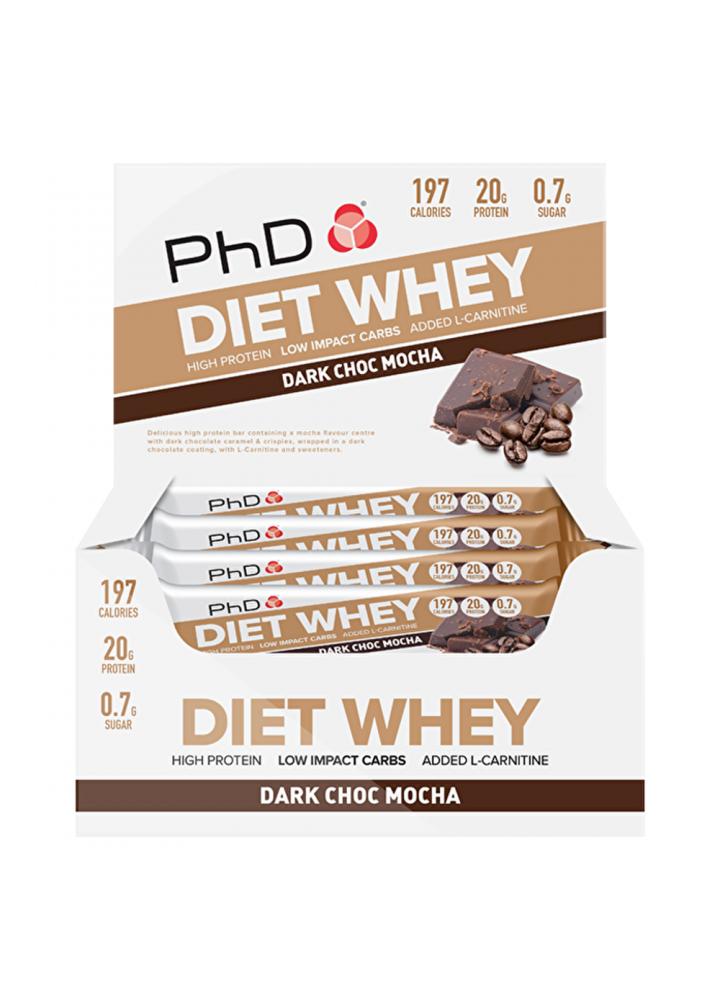 PhD Diet Whey Bar 65g - novi