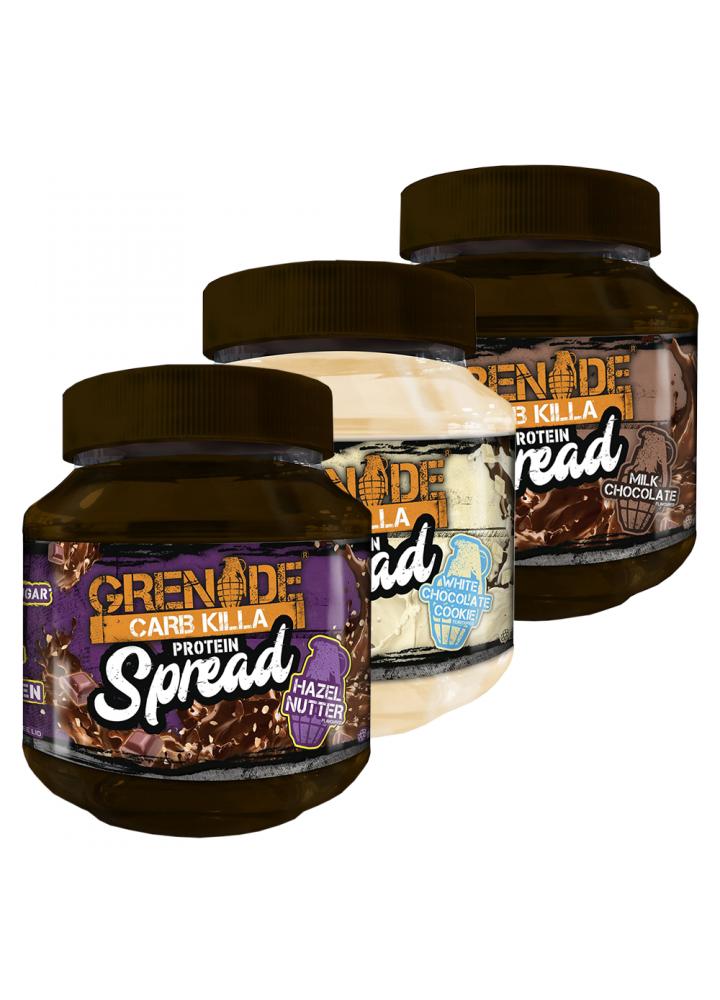 Grenade CarbKilla beljakovinski namaz